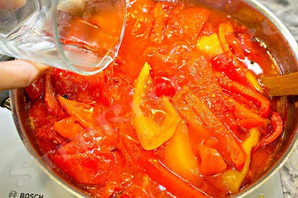 как варить лечо из помидор и перца