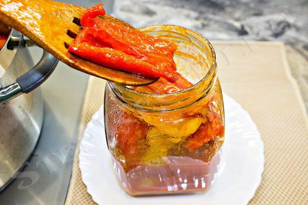 салат лечо из перца на зиму